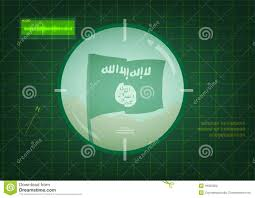 Jihad Flag For Sale Isis Flag On Target Stock Image Image Of Jihad Country 47179801