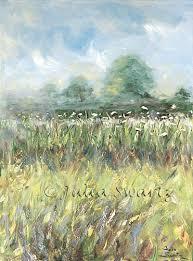 julia swartz fine art gallery queen anne u0027s lace row flower oil