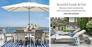 New Outdoor Furniture by All Outdoor Pottery Barn