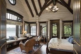 log homes interiors rustic bedrooms design ideas canadian log homes