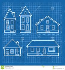 residential blueprints house blueprints stock illustration image 41195048