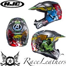 hjc motocross helmet hjc cl xy 2 marvel avengers hulk youth childs kids mx motocross