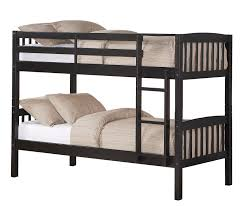 Race Car Bunk Bed Dorel Belmont Twin Bunk Bed Black Shop Your Way Online