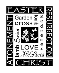 easter clip art religious easter clip art black and white 1281