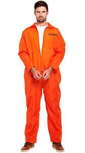 prison jumpsuit costume mens orange convict prisoner jumpsuit cops robbers stag do fancy