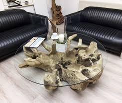 Wohnzimmer Tisch Der Tischonkel Wohnzimmertisch Baumwurzel 132 X 41 Cm