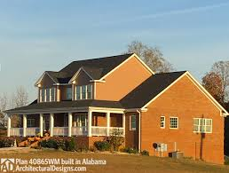 house plan 40865wm comes to life in alabama