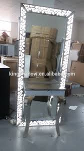 salon mirrors with lights kingshadow led light salon furniture styling mirror station factory
