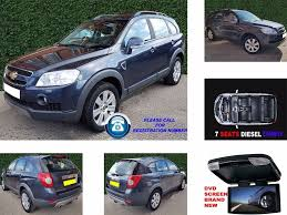 used chevrolet captiva cars for sale in sheffield south yorkshire