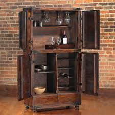 Mini Bar Cabinet Picture Of Bar Cabinet Ideas With Rustic Mini Bar Cabinet