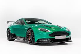 one of one viridian green aston martin vantage gt12 looks like a