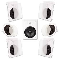 7 1 home theater speakers amazon com acoustic audio ht 87 7 1 home theater speaker system