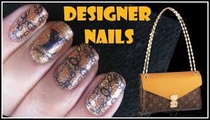 konad stamping nail art tutorial gold chain lv designer nails xl