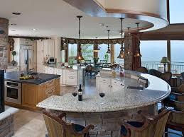 semi modern kitchen semi circle island kitchen 10 kitchen islands hgtv kitchen island