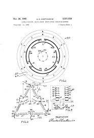 3 phase 4 pole ac induction motor wiring diagram components