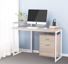 computer and printer table computer printer table amazon com merax stylish computer desk home