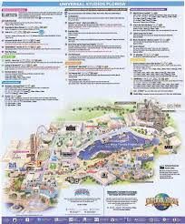 Universal Map Universal Studios Florida Guidemaps