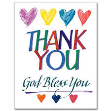 thank you card for religious thank you cards the gift of saying thanks the