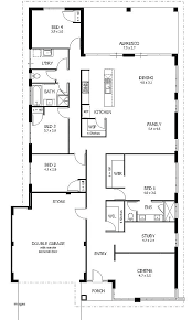 simple four bedroom house plans house plans 6 bedrooms simple plan 6 bedroom house floor plans large
