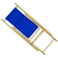 Folding Chair Fabric Toy Wood Lawn Folding Chair Royal Blue Fabric Toy Tents And Chairs