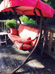 Orchard Supply Patio Furniture by Orchard Supply Hardware 3 Person Patio Swing Replacement Canopy
