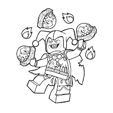 lego nexo knights jestro coloring pages for kids