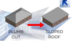 revit 2017 sloped roof create a sloped roof easy youtube