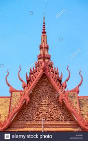 Roof Finials Spires by Khmer Architecture Roof Spires Of National Museum Of Cambodia