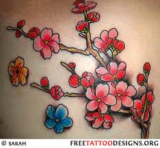 blossom tattoo designs