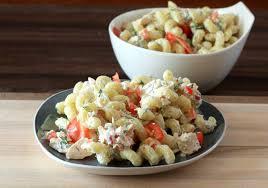 pasta salda pasta salad with tuna and dill recipe