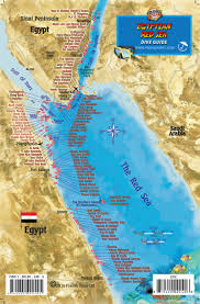 Map Of The Red Sea Red Sea Egyptian Dive Guide U0026 Fish Id U2013 Franko Maps