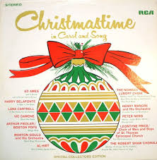christmastime in carol and song vinyl lp album 1968 christmas