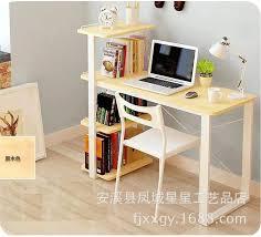 Simple Computer Desk American Minimalist Desk Bookcase Combination Of Simple Modern