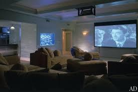 Home Theater Design Nyc Mariah Carey U0027s New York Triplex Architectural Digest Apartment