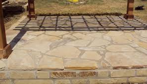 Rock Patio Design Flagstone Patio Designs Lightandwiregallery
