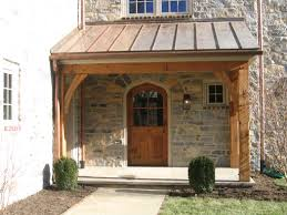 back porch designs the front and back porch timberframing by