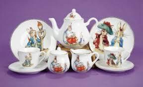 beatrix potter tea set tea sets niche collectibles shop