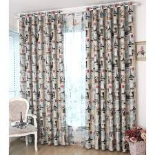Colorful Patterned Curtains Colorful Patterned Print Polyester Modern Room Darkening Curtains