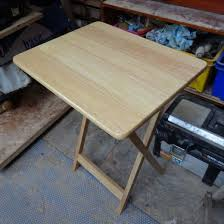 making a folding table stable hubpages