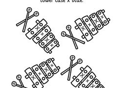 letter x worksheets u0026 free printables education com