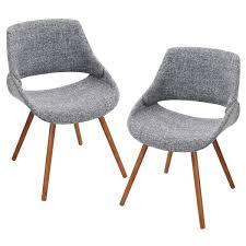 Mid Century Modern Armchairs Pair Of Fabrico Mid Century Modern Chairs In Walnut Wood Free