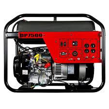 winco portable generator dp7500 7500 watt gas honda carb