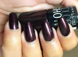 maybelline new york color show nail lacquer wine and dined