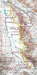 Back Road Maps Badwater Road Maps