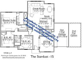 New Home Plans Ranch Style Home Plans