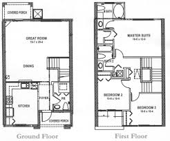 floorplan of the 3 bedroom home at regal palms