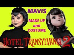 Mavis Hotel Transylvania Halloween Costume Hotel Transylvania 2 Vampire Mavis Halloween Makeup Cosplay