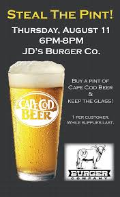 steal the pint night 8 11 cape cod beer cape cod beer