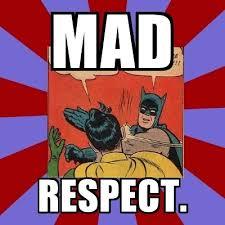 Batman Slapping Robin Meme Maker - mad respect batman slapping robin meme generator