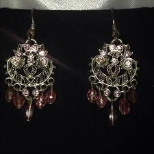 Pink Chandelier Earrings 50 Fashion Bug Jewelry Silver And Pink Chandelier Earrings